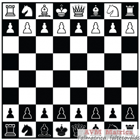 sakktábla képek Sakktábla falmatrica   AVM Matrica sakktábla képek