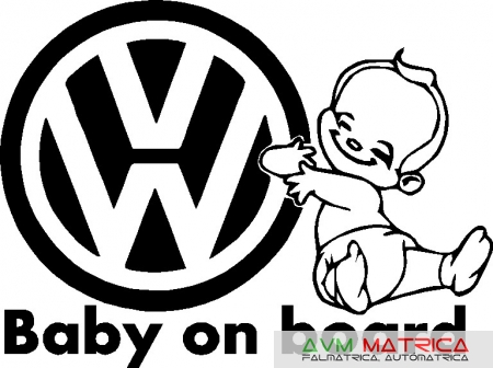 Vw Baby on board autómatrica