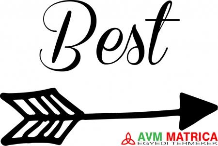 0699c388f9 Best friends - best póló - AVM Matrica