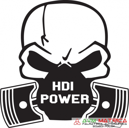 Skull mask - HDI power autómatrica